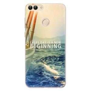 Odolné silikonové pouzdro iSaprio - Beginning na mobil Huawei P Smart