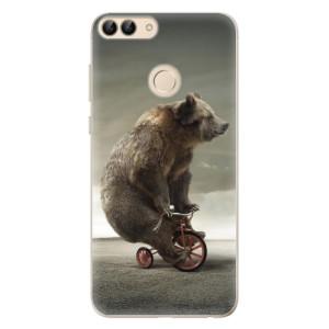 Odolné silikonové pouzdro iSaprio - Bear 01 na mobil Huawei P Smart