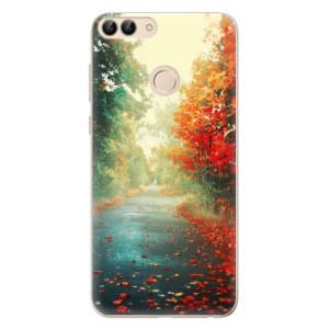 Odolné silikonové pouzdro iSaprio - Autumn 03 na mobil Huawei P Smart