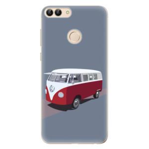 Odolné silikonové pouzdro iSaprio - VW Bus na mobil Huawei P Smart