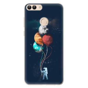 Odolné silikonové pouzdro iSaprio - Balloons 02 na mobil Huawei P Smart