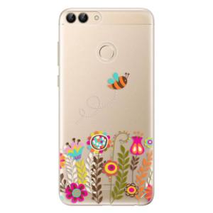 Odolné silikonové pouzdro iSaprio - Bee 01 na mobil Huawei P Smart