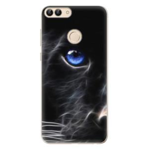 Odolné silikonové pouzdro iSaprio - Black Puma na mobil Huawei P Smart