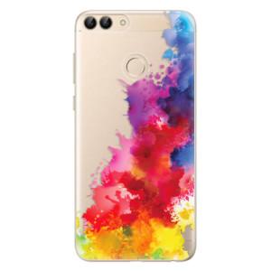 Odolné silikonové pouzdro iSaprio - Color Splash 01 na mobil Huawei P Smart