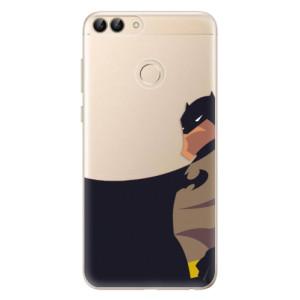 Odolné silikonové pouzdro iSaprio - BaT Comics na mobil Huawei P Smart