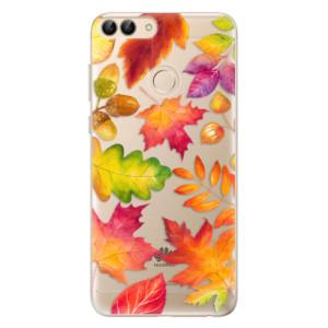 Odolné silikonové pouzdro iSaprio - Autumn Leaves 01 na mobil Huawei P Smart