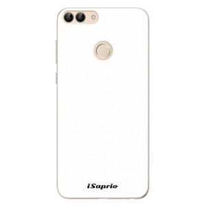 Odolné silikonové pouzdro iSaprio - 4Pure - bílé na mobil Huawei P Smart