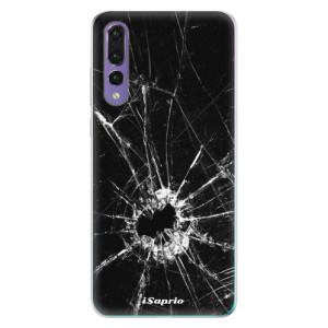 Odolné silikonové pouzdro iSaprio - Broken Glass 10 na mobil Huawei P20 Pro