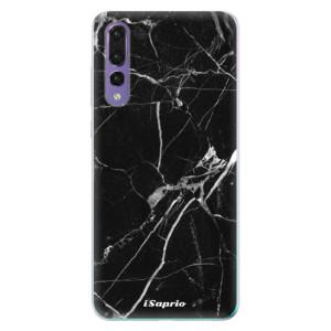 Odolné silikonové pouzdro iSaprio - Black Marble 18 na mobil Huawei P20 Pro