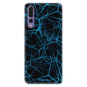 Odolné silikonové pouzdro iSaprio - Abstract Outlines 12 na mobil Huawei P20 Pro