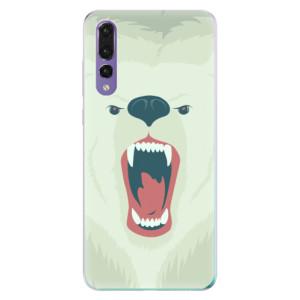 Odolné silikonové pouzdro iSaprio - Angry Bear na mobil Huawei P20 Pro