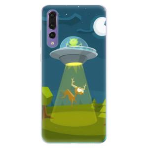 Odolné silikonové pouzdro iSaprio - Alien 01 na mobil Huawei P20 Pro