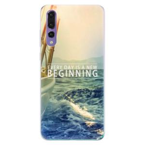 Odolné silikonové pouzdro iSaprio - Beginning na mobil Huawei P20 Pro