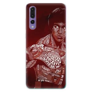 Odolné silikonové pouzdro iSaprio - Bruce Lee na mobil Huawei P20 Pro
