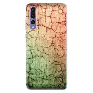 Odolné silikonové pouzdro iSaprio - Cracked Wall 01 na mobil Huawei P20 Pro