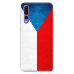 Odolné silikonové pouzdro iSaprio - Czech Flag na mobil Huawei P20 Pro