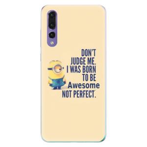 Odolné silikonové pouzdro iSaprio - Be Awesome na mobil Huawei P20 Pro