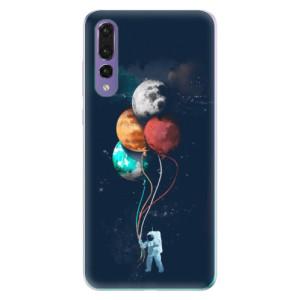 Odolné silikonové pouzdro iSaprio - Balloons 02 na mobil Huawei P20 Pro