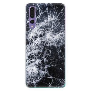 Odolné silikonové pouzdro iSaprio - Cracked na mobil Huawei P20 Pro