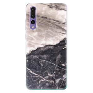 Odolné silikonové pouzdro iSaprio - BW Marble na mobil Huawei P20 Pro