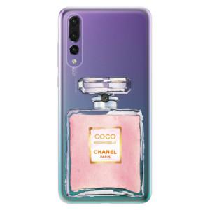 Odolné silikonové pouzdro iSaprio - Chanel Rose na mobil Huawei P20 Pro