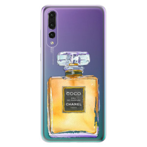 Odolné silikonové pouzdro iSaprio - Chanel Gold na mobil Huawei P20 Pro