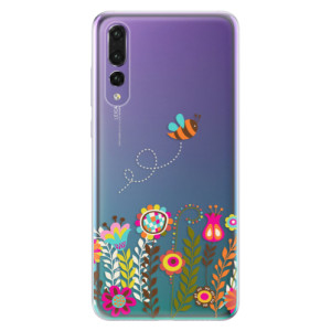 Odolné silikonové pouzdro iSaprio - Bee 01 na mobil Huawei P20 Pro