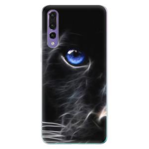 Odolné silikonové pouzdro iSaprio - Black Puma na mobil Huawei P20 Pro