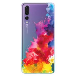 Odolné silikonové pouzdro iSaprio - Color Splash 01 na mobil Huawei P20 Pro