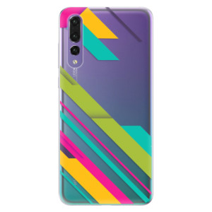 Odolné silikonové pouzdro iSaprio - Color Stripes 03 na mobil Huawei P20 Pro