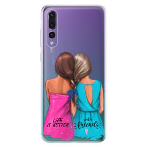 Odolné silikonové pouzdro iSaprio - Best Friends na mobil Huawei P20 Pro