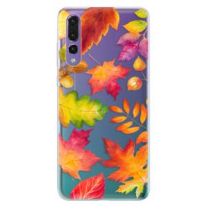 Odolné silikonové pouzdro iSaprio - Autumn Leaves 01 na mobil Huawei P20 Pro