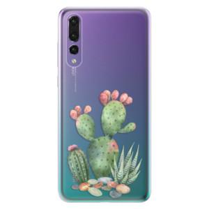 Odolné silikonové pouzdro iSaprio - Cacti 01 na mobil Huawei P20 Pro