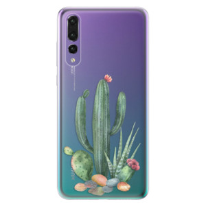 Odolné silikonové pouzdro iSaprio - Cacti 02 na mobil Huawei P20 Pro