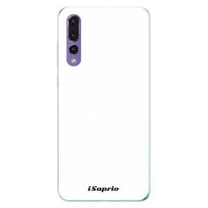 Odolné silikonové pouzdro iSaprio - 4Pure – bílé na mobil Huawei P20 Pro