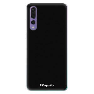 Odolné silikonové pouzdro iSaprio - 4Pure – černé na mobil Huawei P20 Pro