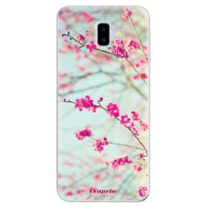 Odolné silikonové pouzdro iSaprio - Blossom 01 na mobil Samsung Galaxy J6 Plus