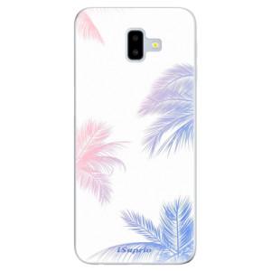 Odolné silikonové pouzdro iSaprio - Digital Palms 10 na mobil Samsung Galaxy J6 Plus
