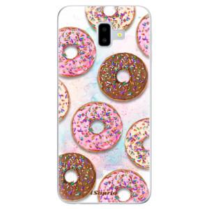 Odolné silikonové pouzdro iSaprio - Donuts 11 na mobil Samsung Galaxy J6 Plus