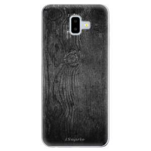 Odolné silikonové pouzdro iSaprio - Black Wood 13 na mobil Samsung Galaxy J6 Plus