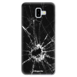Odolné silikonové pouzdro iSaprio - Broken Glass 10 na mobil Samsung Galaxy J6 Plus