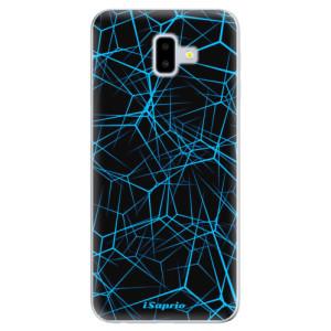 Odolné silikonové pouzdro iSaprio - Abstract Outlines 12 na mobil Samsung Galaxy J6 Plus