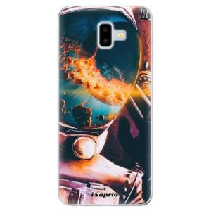Odolné silikonové pouzdro iSaprio - Astronaut 01 na mobil Samsung Galaxy J6 Plus