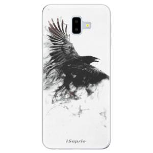 Odolné silikonové pouzdro iSaprio - Dark Bird 01 na mobil Samsung Galaxy J6 Plus