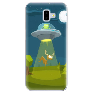 Odolné silikonové pouzdro iSaprio - Alien 01 na mobil Samsung Galaxy J6 Plus
