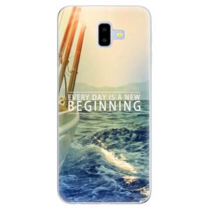 Odolné silikonové pouzdro iSaprio - Beginning na mobil Samsung Galaxy J6 Plus