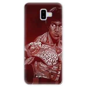 Odolné silikonové pouzdro iSaprio - Bruce Lee na mobil Samsung Galaxy J6 Plus