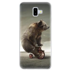Odolné silikonové pouzdro iSaprio - Bear 01 na mobil Samsung Galaxy J6 Plus