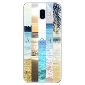 Odolné silikonové pouzdro iSaprio - Aloha 02 na mobil Samsung Galaxy J6 Plus