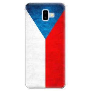 Odolné silikonové pouzdro iSaprio - Czech Flag na mobil Samsung Galaxy J6 Plus